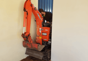 Restricted Access Excavator